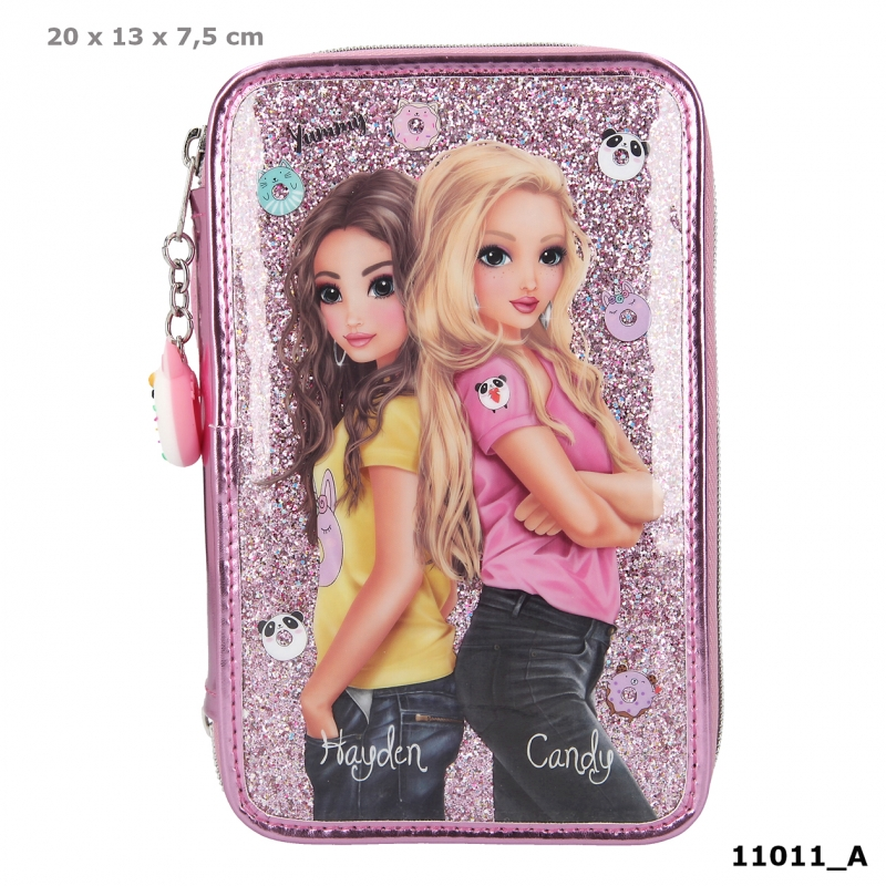 TOPModel Trousse 3 niveaux CANDY CAKE