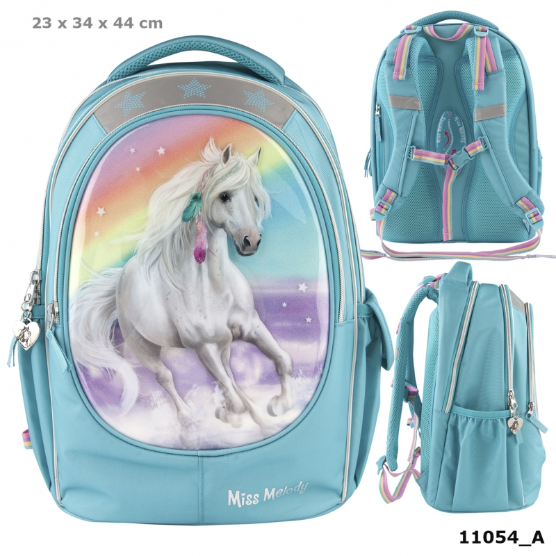 Miss Melody Cartable soft RAINBOW