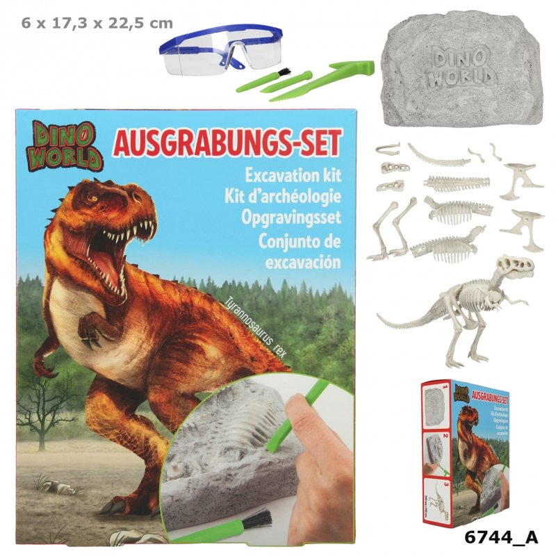 Dino World opgravingsset groot