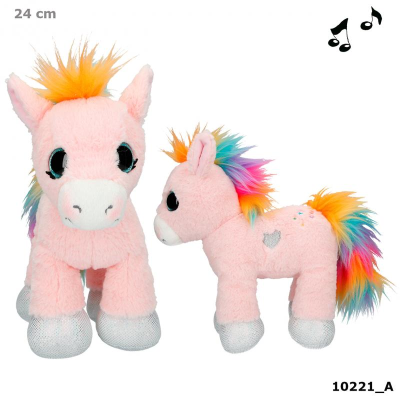 Ylvi & the Minimoomis Pony Roosy Rainbow Plush, 24 cm