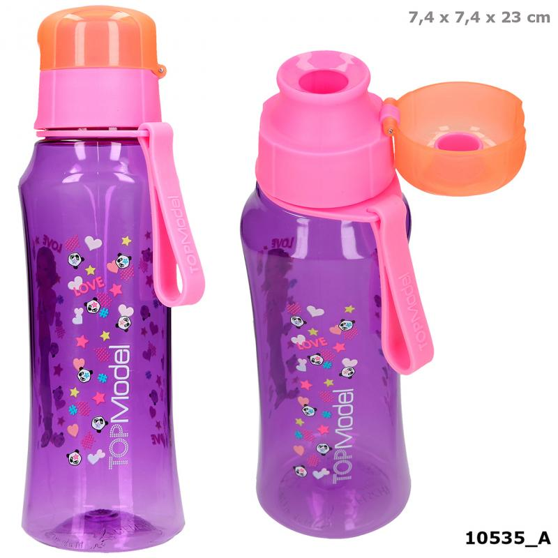 TOPModel Drinking Bottle 500 ml purple