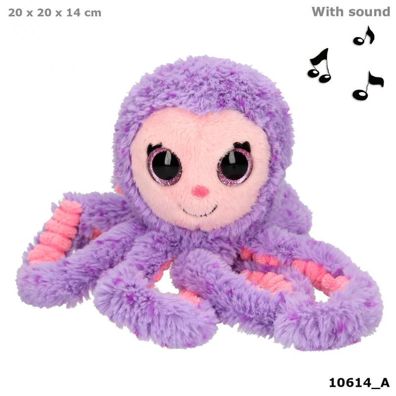 Minimoomis Plush Octopus Ahooy Purple