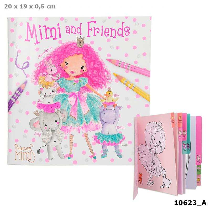 Princess Mimi And Friends Colouring Book