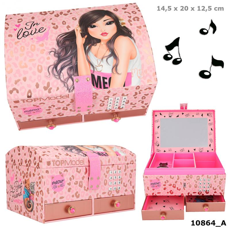 TOPModel Big Jewellery Box With Code And Sound, Motif 1