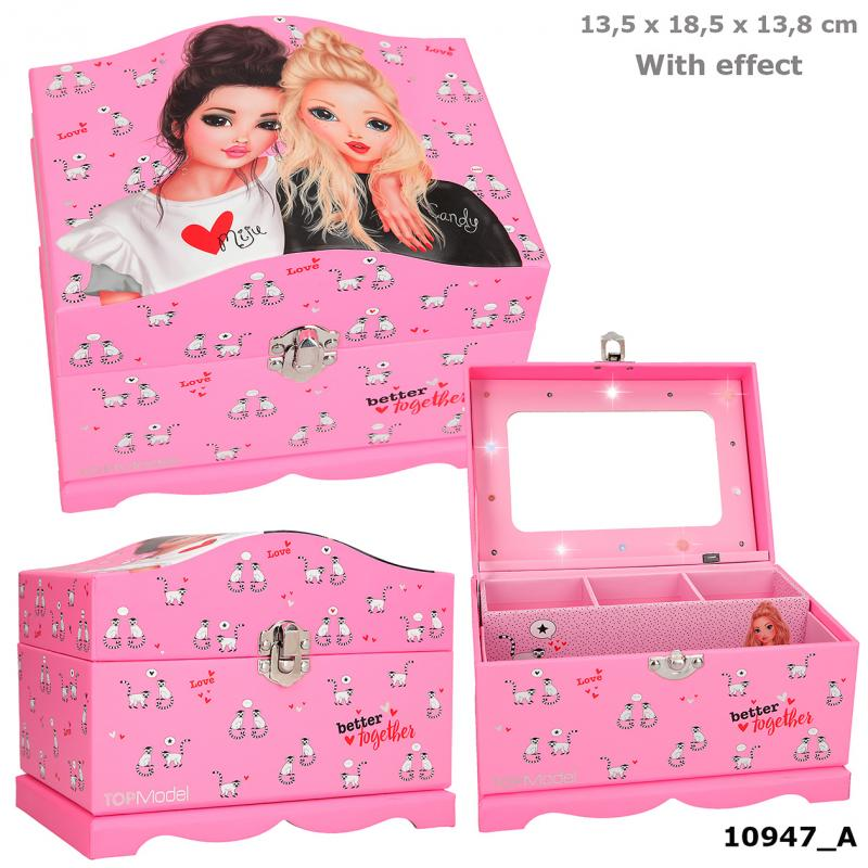 TOPModel Jewellery Box With Light