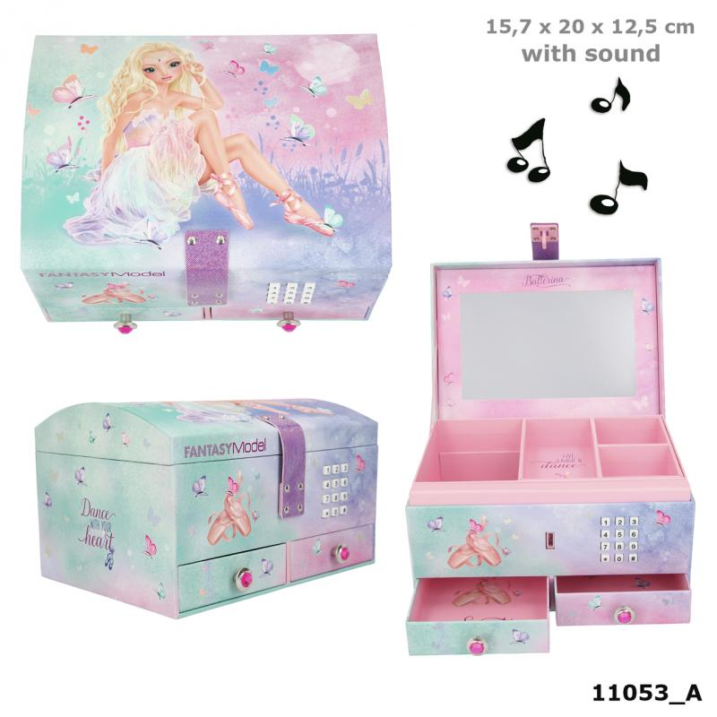 Fantasy Model Big Jewellery Box With Code And Sound BALLET