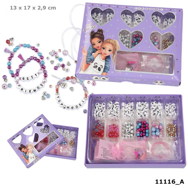 TOPModel Beads Set Names & Phrases