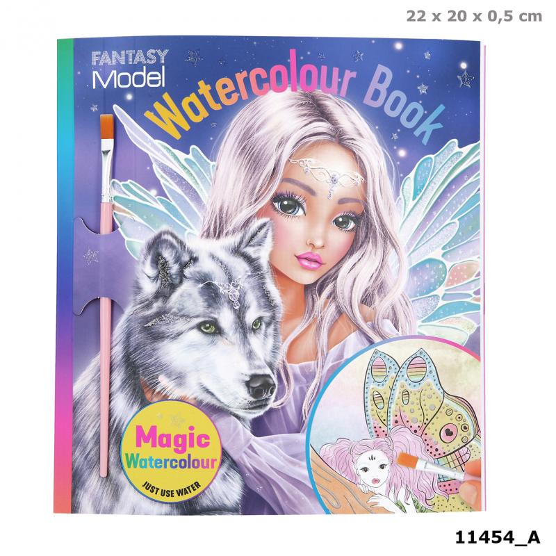FANTASYModel Watercolour Book FAIRY