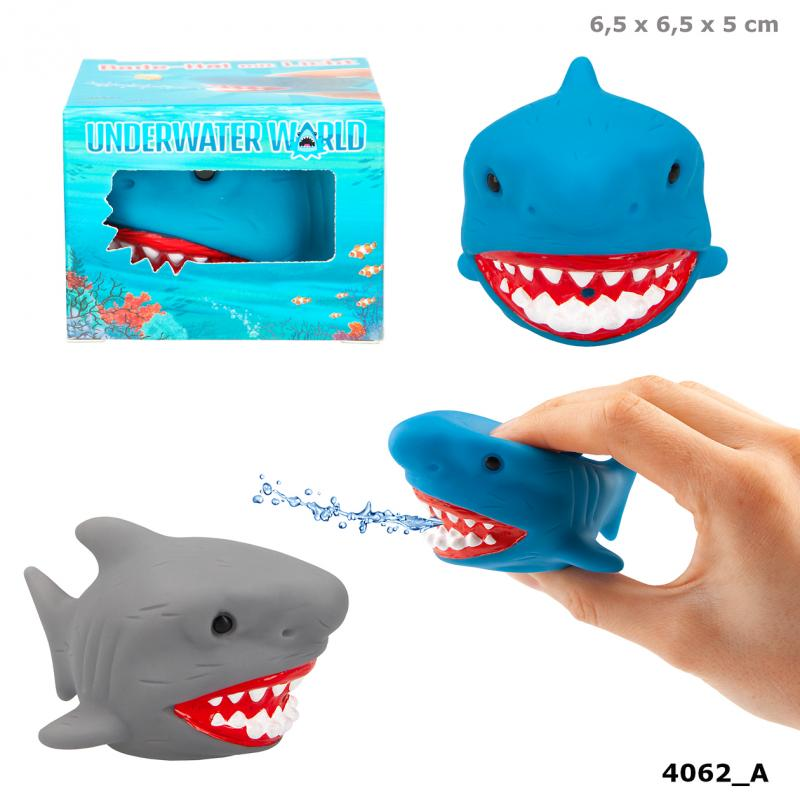 Dino World Bath Shark With Light UNDERWATER