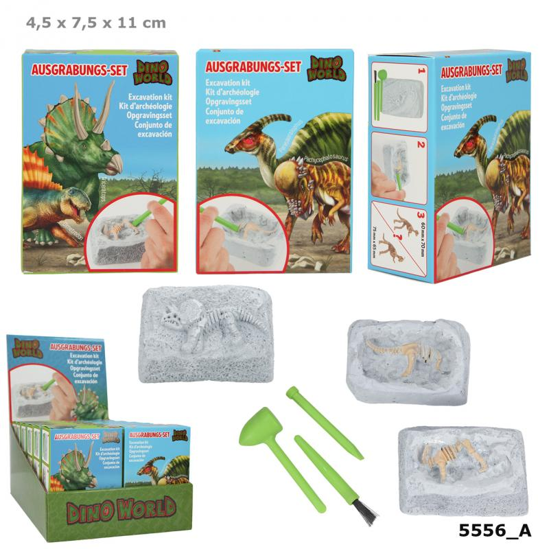 Dino World Excavation Kit Small
