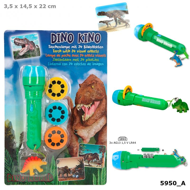 Dino World Torch With Visual Effects