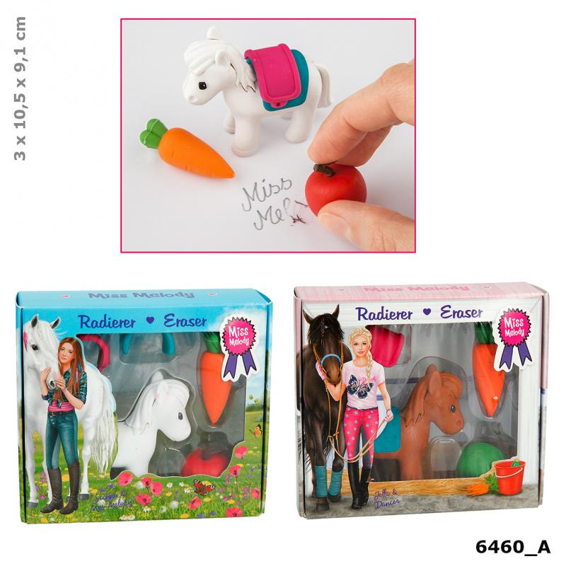 Miss Melody Eraser Set
