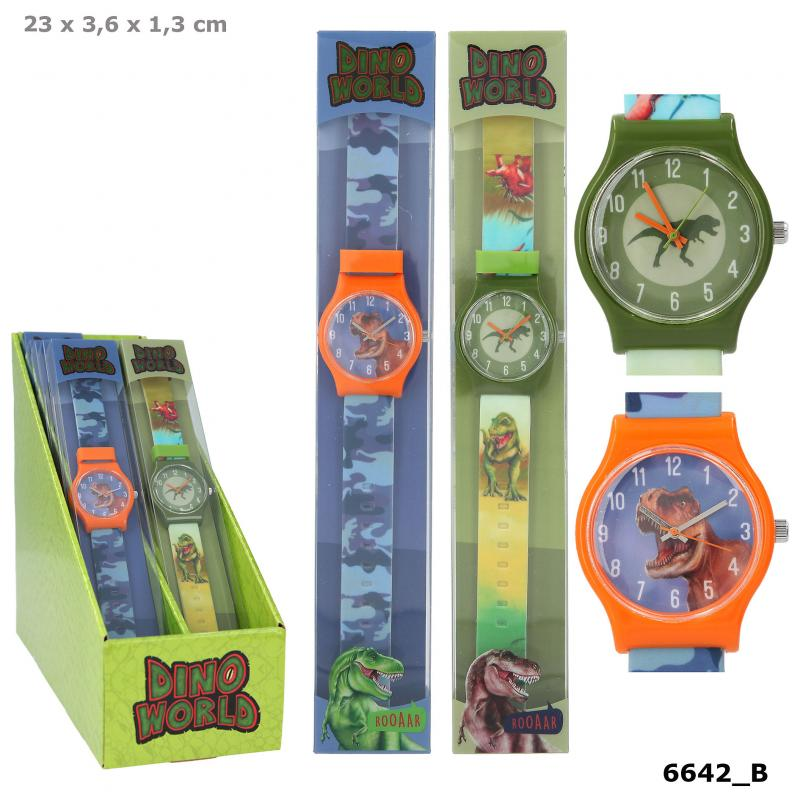 Dino World Silicone Watch