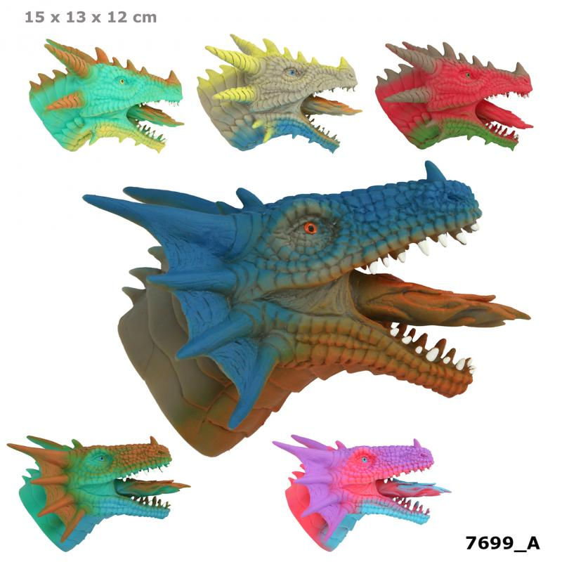 Dino World Handpuppet DRAGON