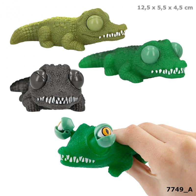 Dino World Pop-Up-Eye Crocodile