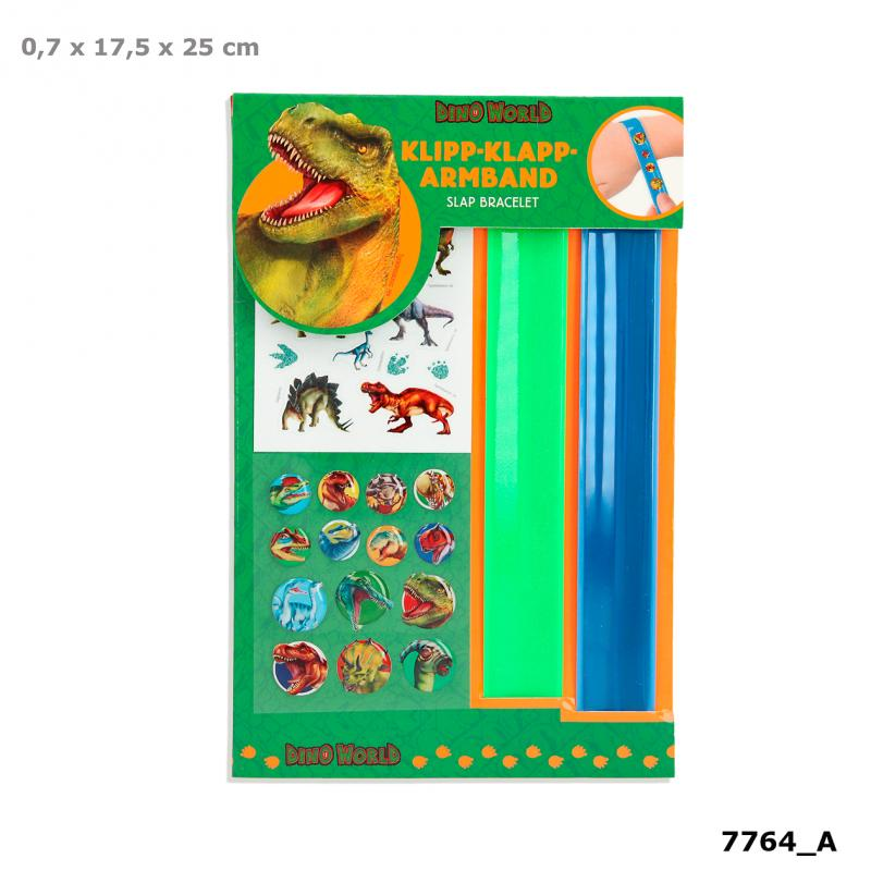 Dino World Slap Bracelet