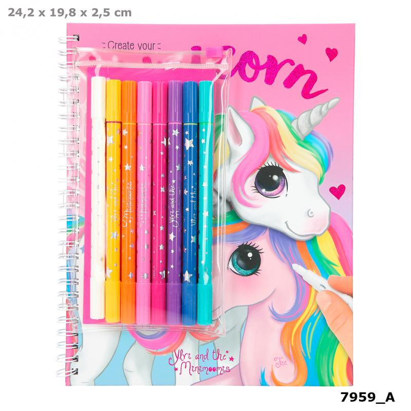 Ylvi Colouring Book With Pen Set