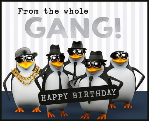 From the whole gang! Happy Birthday